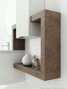 Mobile bagno moderno in grigio. #therapy4home #bagno #grey #design ...