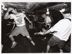 Gorilla Biscuits - straight edge hardcore band from New York