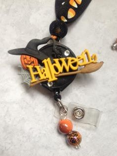 Peanuts Halloween Inspired Decorative ID Badge Holders by Real Charming