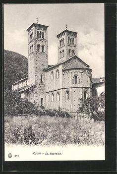 Como,   S. Abbondio church, '900