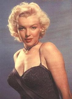 """To commemorate the release of """"Gentlemen Prefer Blondes"""",  Marilyn received  """"The Best Friend a Diamond ever Had"""" by the Jewelry Academy, 1953 color."""