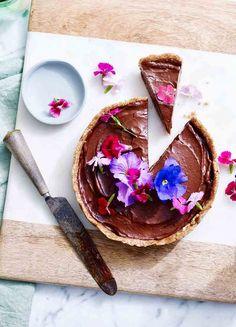 Raw Chocolate & Avocado Tart | Baking | MiNDFOOD