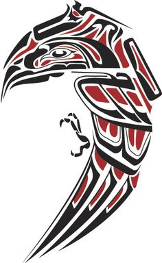 Haida Eagle vector recreation of Steve A tattoo Haida Eagle Haida Tattoo, 1 Tattoo, Body Art Tattoos, Haida Kunst, Haida Art, Totems, Art Haïda, Tatouage Haida, Native Tattoos