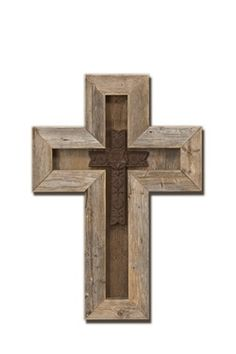 Or Thiswithout The Insert Rustic Barn Wood Cross More