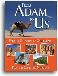 From Adam to Us - One-Year World History and Literature Curriculum for Middle School - Notgrass History (J's 7th grade)