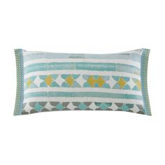 The Echo Design™ Lagos bedding collection instantly transforms the look of your room. The oblong pillow features a modern geometric print that matches back to the bedding set. Toss Pillows, Floor Pillows, Decorative Throw Pillows, Bed Pillows, Surf Spray, Pillows Online, Duvet Sets, Home Decor Outlet, Bedding Collections