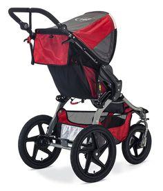Amazon.com : BOB Revolution FLEX 2016 Jogging Stroller, Red : Baby