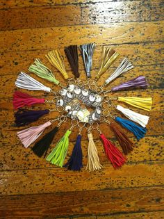 Tassel Keychain - Choose Color — Tiffany Rose Designs