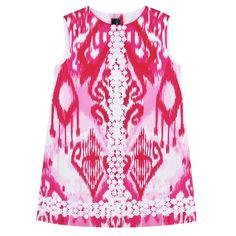 Oscar De La Renta: Ikat A-Line Dress with Daisy Lace (2Y) Oscar de la Renta http://www.amazon.com/dp/B00EZK991W/ref=cm_sw_r_pi_dp_eoJ2tb05HV8R3SN8