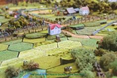 GHQ Terrain Maker hex kits | CHARGE! Civil War wargaming