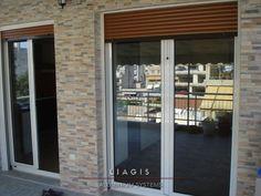 Ανοιγόμενες μπαλκονόπορτες Garage Doors, Outdoor Decor, Home Decor, Decoration Home, Room Decor, Interior Design, Home Interiors, Interior Decorating