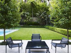 Lawn and entertaining area | by William Dangar & Associates