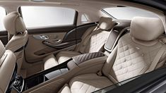 2015 MERCEDES-MAYBACH S600 INTERIOR TEASED