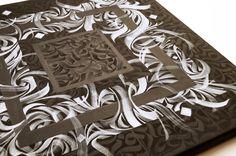 Black Triangle | Contemporary calligraphy