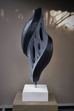 Fusion II in Kilkenny limestone Soapstone Carving, Wood Carving, Contemporary Sculpture, Contemporary Art, Fenced Garden, Organic Sculpture, Architectural Sculpture, Tower Design, Stone Sculpture