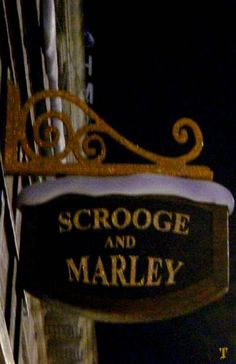 Scrooge and Marley. Good sign to hang outside our house. Hubs is scrooge. Scrooge A Christmas Carol, Christmas Carol Charles Dickens, Ghost Of Christmas Past, Office Christmas, A Christmas Story, Christmas Movies, Christmas Art, Christmas Hallway, English Christmas