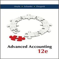 Solutions Manual for Advanced Accounting Edition by Hoyle Schaefer Doupnik 0077862228 9780077862220 Accounting Advanced Accounting Joe Ben Hoyle Thomas F. Schaefer Timothy S. Accounting Books, Financial Accounting, Accounting Course, Accounting Major, Sell Textbooks, Connect Plus, Cpa Exam
