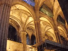 One of the magnificient churches in Barcelona Spain....