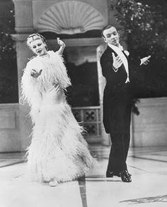 'cheek to cheek' from 'top hat', fred astaire and ginger rogers