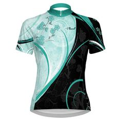 Primal Wear - Floret Women's Cycling Jersey Women's Cycling Jersey, Cycling Jerseys, Primal Wear, Cycling Outfit, Unique Outfits, Wetsuit, Sportswear, Bicycle, Bike Stuff