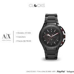 Reloj #ArmaniExchange para Caballero a sólo 3,750 #SoloEnClocks  http://instagram.com/clocksrelojes https://www.facebook.com/clocksrelojes https://twitter.com/ClocksRelojes
