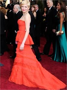 Michelle Williams in Louis Vuitton by Marc Jacobs