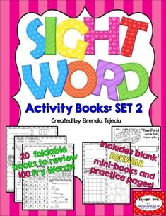 Worksheets Write In Word From 101 To 200 pinterest the worlds catalog of ideas sight word activity books set 2 fry words 101 200 editable