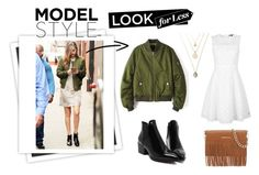 """""""Look for Less: Gigi Hadid"""" by reneefoster022 ❤ liked on Polyvore featuring GALA, Tommy Hilfiger, Rebecca Minkoff, modeloffduty and gigihadid"""