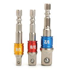 Set Socket Adapter Hex Shank to Impact Drill Bits. hex shank to socket) Socket Adapter, Length: hex shank to socket) Socket Adapter, Length: hex shank to socket) Socket Adapter, Length: