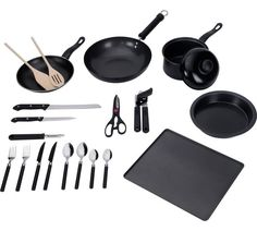Buy Simple Value 20 Piece Kitchen Essentials Starter Set at Argos.co.uk - Your Online Shop for Starter sets, Kitchenware, Cooking, dining and kitchen equipment, Home and garden.