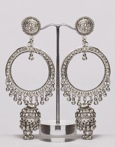 Indian Style Jewelry-Jhumka Earrings