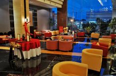 Best Place to chill at night in Semarang, Chatter Lounge. #view #bestplace #chill #travel #indonesia #hotel #Travelling #lounge #semarang Semarang, Chill, Lounge, Places, Travelling, Tower, Furniture, Night, Home Decor