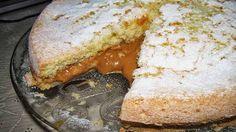 Torta de Pão de Ló com Doce de Leite - Receitas e Dicas do Chef