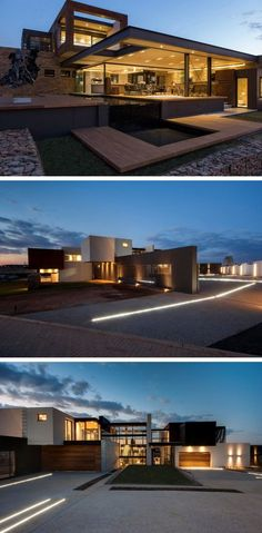 Nico van der Meulen Architects have designed House Boz located in Pretoria, South Africa.: