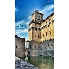 C'era una volta in un Castello (Estense) incantato... #MyFerrara #comunediFerrara #igersferrara #Ferrara