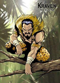 Kraven the Hunter, Spider-Man foe - Marvel Comics