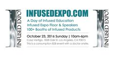 Join Ed Rosenthal and Maya of Maya & Whoopi at the Infused Expo in Los Angeles on October 23rd! Speakers, panels, and an expo floor full of vendors sharing products and services that will support creating products for the cannabis consumers to enjoy will all be at Casa Vertigo!