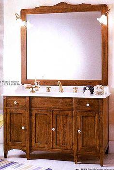 Rusztikus fürdőszoba - www.montegrappamoblili.hu Double Vanity, Bathroom, Washroom, Bathrooms, Bath, Double Sink Vanity