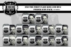 EXO XOXO Folder Icon Pack by Rizzie23.deviantart.com on @DeviantArt