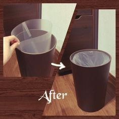 On Walls/ダストボックス/リメイク/アイデア/クリアファイル/ニトリのゴミ箱...などのインテリア実例 - 2017-12-03 11:36:21|RoomClip (ルームクリップ) Diy Storage, Clean House, Diy Interior, Bathroom Interior, Interior Design, Tidy Up, Decoration For Ganpati, Luxury Vinyl Plank, Garbage Can
