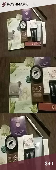 Big Makeup Lot Various brands! Lipsticks, skincare, setting powder, blush, gloss! Awesome brands! The INSPR shadow looks crumbly, although never opened, so I'm not including it in my price. You can just have it with the lot. Makeup