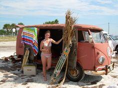 VW surfer girl