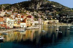14 Sunny Places You'll Want To Visit Now #refinery29  http://www.refinery29.com/travel-destinations#slide12  Welcome Hotel in Villefranche-sur-Mer, France