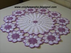 Study In Circles Crochet Motif Table Run Table - Diy Crafts - maallure Diy Crafts New, Diy Crafts Crochet, Crochet Home, Crochet Gifts, Crochet Projects, Vintage Crochet Patterns, Crochet Stitches Patterns, Crochet Motif, Crochet Flowers