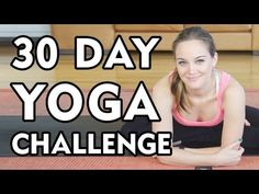 I've been doing this 30 day yoga challenge. I loved it after the first day! I'm about half-way through now.