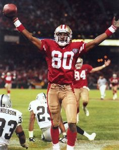 Jerry Rice the greatest NFL player of all time, and the hardest worker in the NFL.