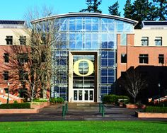 Lillis Business Complex, University of Oregon  My second home! (Or first....?)