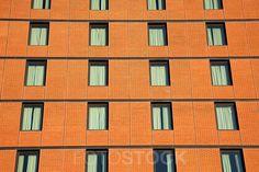 Window Facade Brick Office Building