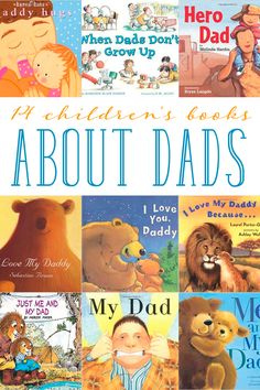 Celebrate dads with your kids! Whether you read about the special bond with dad or how fun they can be, here are 14 children's books about dads.