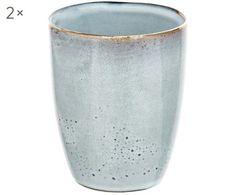 Sass /& Belle Mini Pastello Memphis moderno Fioriere Set di 3 vasi di piante anni/'80 Cool